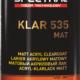 KLAR 535 MAT Two-component matt acryl clearcoat