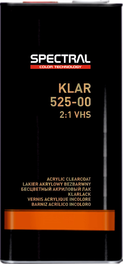 KLAR 525–00 Two-component VHS clearcoat