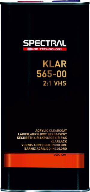 KLAR 565–00 Two-component VHS clearcoat
