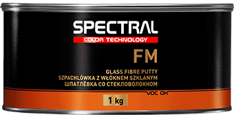 FM Two-component polyester glass fiber putty