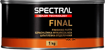 FINAL Two-component finishing polyester putty