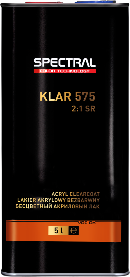 KLAR 575 Two-component clearcoat with increased scratch resistance (SR)